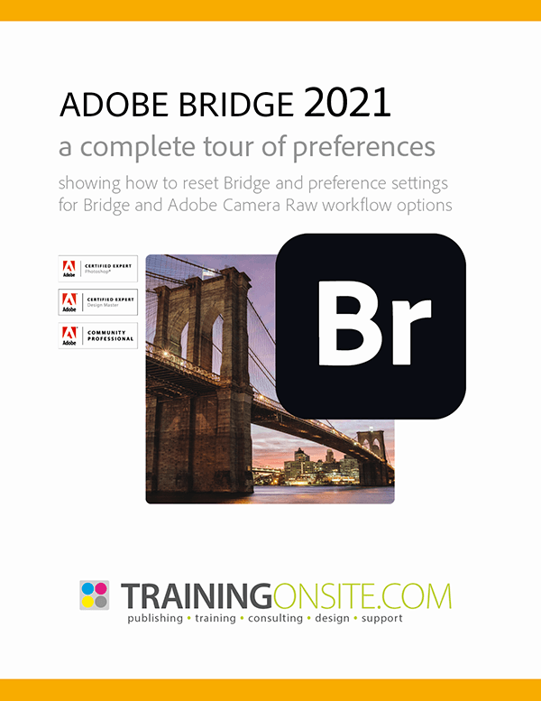 Adobe Bridge 2021 a complete tour of preferences