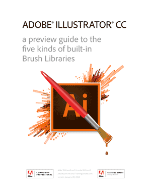 Illustrator CC brush library guide 2014