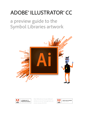 Illustrator CC 2014 symbol libraries guide