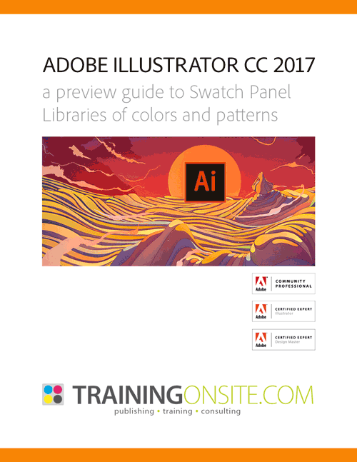 Illustrator CC 2017 swatches patterns