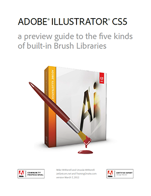 Illustrator CS5 brush libraries guide