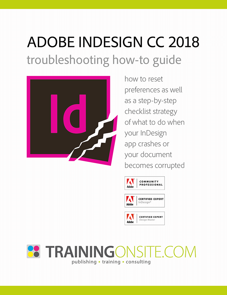 What to do when InDesign CC 2019 won't start