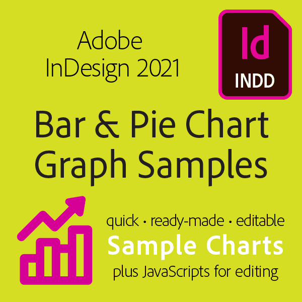 Mikes InDesign 2021 Bar and Pie Graph Starters