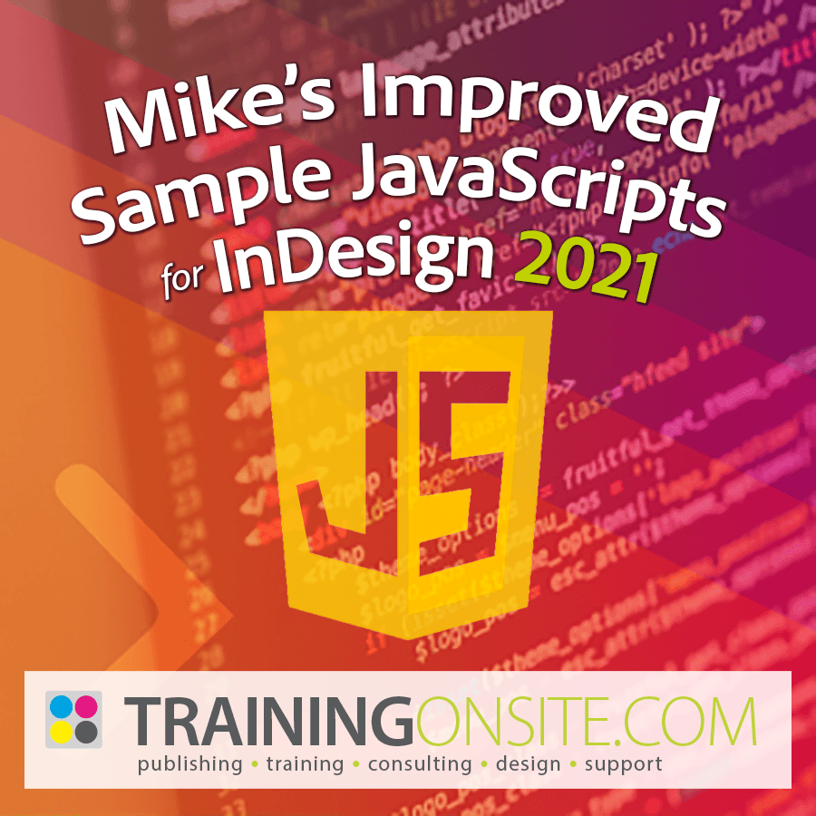 Mikes Improved Sample JavaScripts 2021