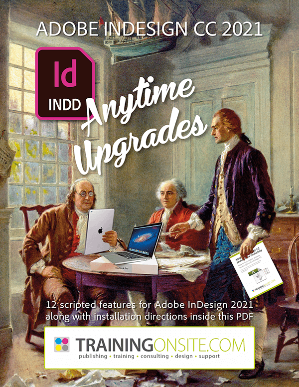 Mike's InDesign 2021 Anytime Upgrade