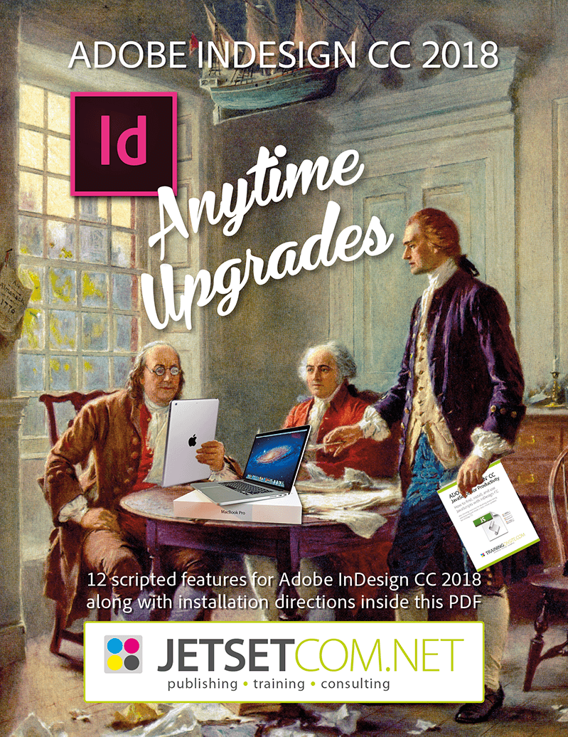 Mikes InDesign CC 2018 Anytime Upgrade
