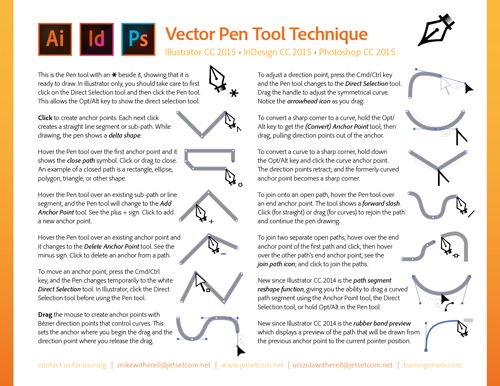 Pen Tool Technique 2015