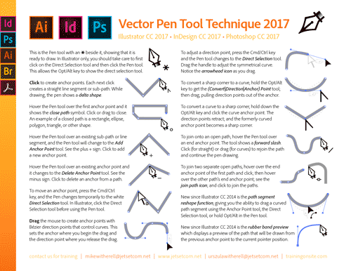 Pen Tool Technique 2017
