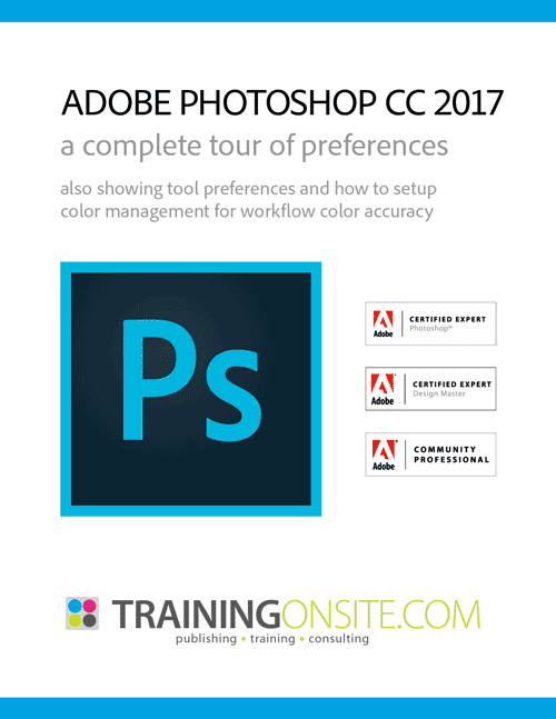 Photoshop CC 2017 tour of preferences