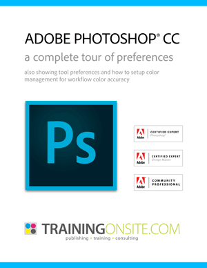 Photoshop CC tour of preferences